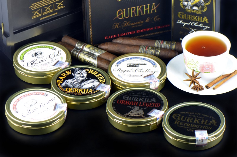Gurkha pipe tobacco 1