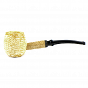 Трубка Missouri Meerschaum  - 1950 Apple Diplomat (Bent)